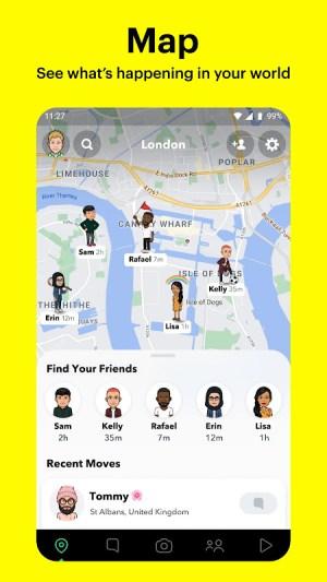 Snapchat 11.46.0.33 Screen 1