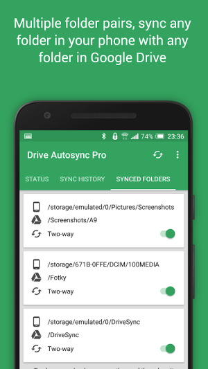 Autosync for Google Drive 4.5.14 Screen 5
