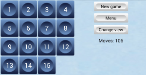 15 Puzzle 1.3.1 Screen 3