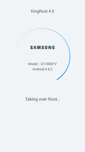 Android Guide for Kingroot Screen 2