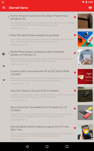 FeedMe (RSS Reader | Podcast) 3.9.4 Screen 18