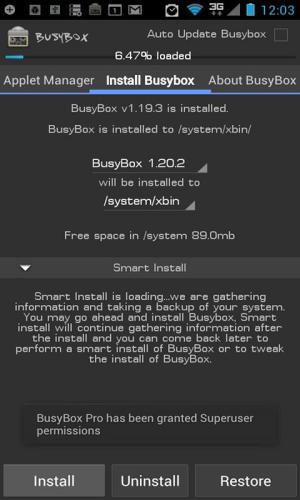 BusyBox Pro 70 Screen 4