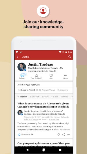 Quora 2.7.5 Screen 5