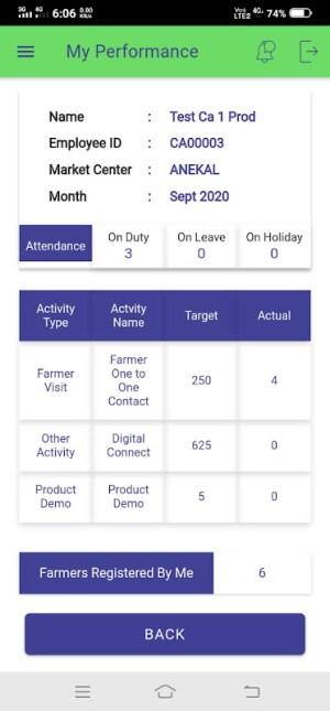 Sampark Mobile App 2.1.2 Screen 4