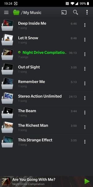 PlayerPro Music Player 5.8 Screen 1