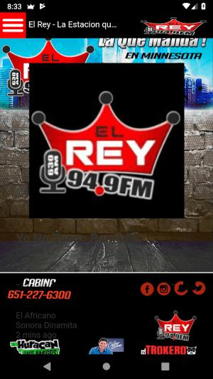 WREY EL REY 9.11 Screen 2