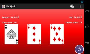 Blackjack 21 1.0.4 Screen 6