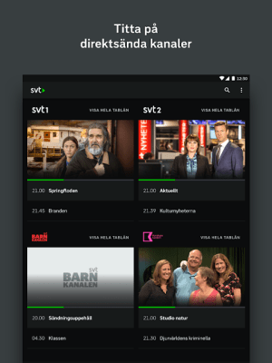 SVT Play 6.5.4-TV Screen 5