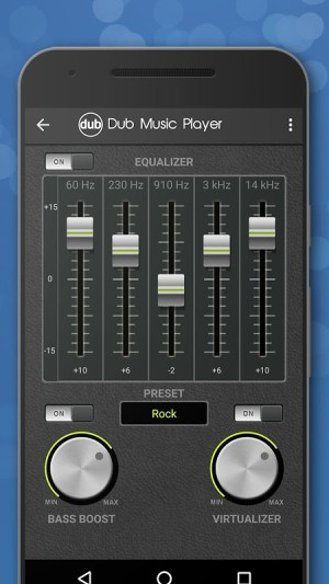 Android Dub Music Player - Free Audio Player, Equalizer 🎧 Screen 1