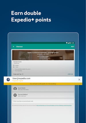 Expedia Hotels, Flights, Car Hires & Activities 18.43.0 Screen 4