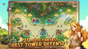 Empire Warriors: Tower Defense TD Strategy Games 2.3.5 Screen 2
