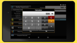 Daily Expenses 2: Personal finance 2.6.74 Screen 9