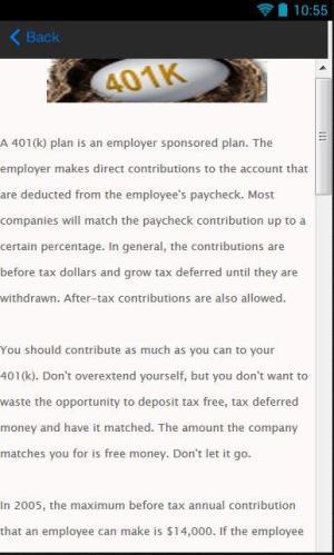 401K Loan 1.0 Screen 3