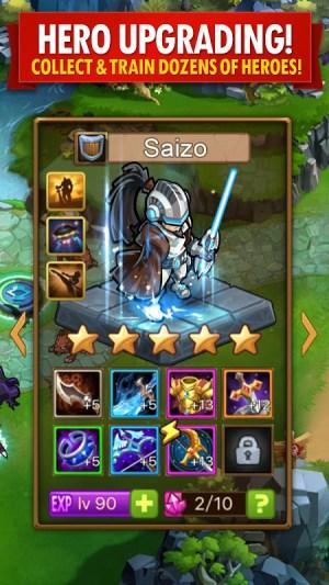 Android Magic Rush: Heroes Screen 12