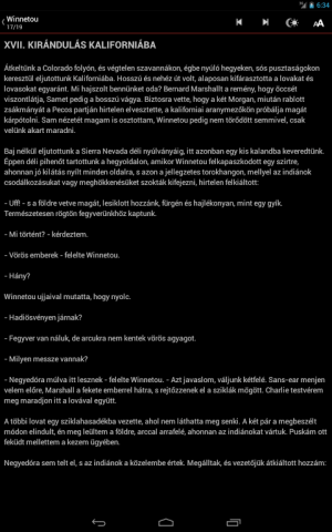 Android Winnetou összes - Karl May Screen 3