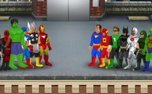 Super City (Superhero Sim) 1.180c Screen 6
