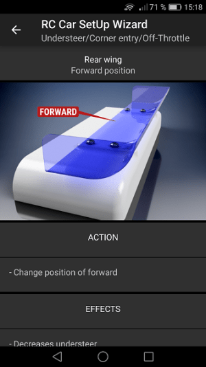 RC Car SetUp Wizard 1.0.14 Screen 6