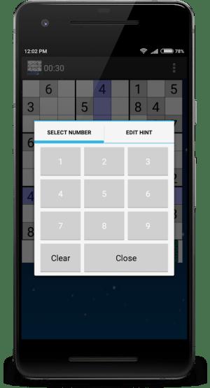 Sudoku(No Ads)- Offline sudoku classic puzzle 22.0 Screen 6