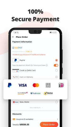 Banggood - Global leading online shop 7.28.1 Screen 3