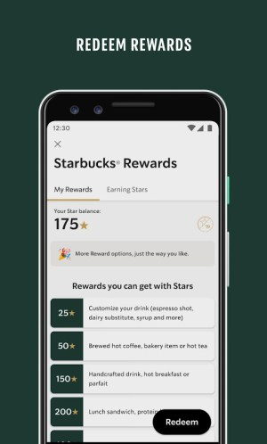 Starbucks 6.5.1 Screen 2