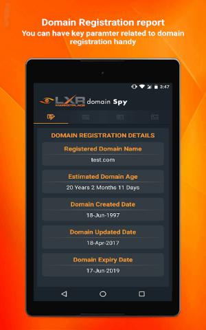 Domain SPY 2.1 Screen 8
