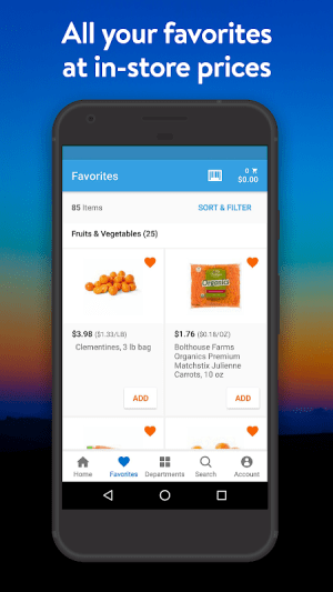 Walmart Grocery 5.2.0 Screen 3