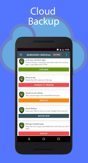 Android AntiVirus for Android Security Screen 3