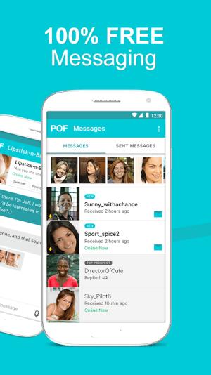 POF Free Dating App 3.94.0.1418971 Screen 1