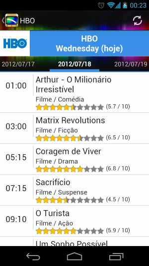 Android TV Guide BR Screen 4