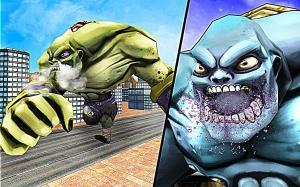 Superhero Incredible Monster Hero City Battle 1.0.12 Screen 5