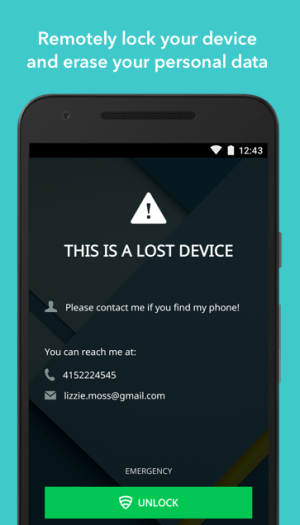Android Lookout Security & Antivirus Screen 5