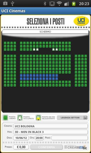 UCI CINEMAS ITALIA 3.0.3 Screen 2