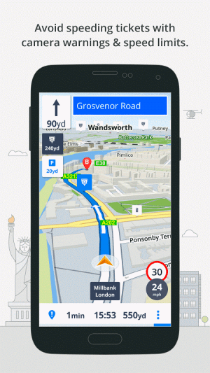 GPS Navigation & Maps Sygic 17.0.7 Screen 5