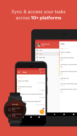 Todoist: To-do lists for task management & errands 13.3 Screen 12