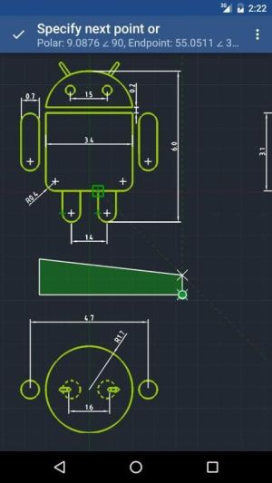 GnaCAD 2.0.28 Screen 1