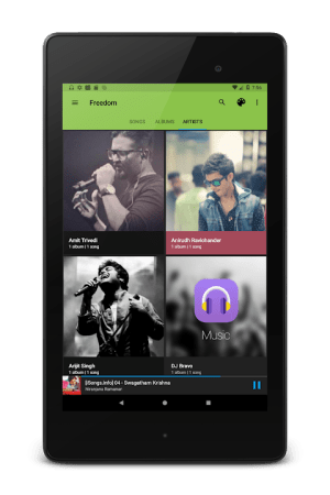 Android Music Player Screen 7