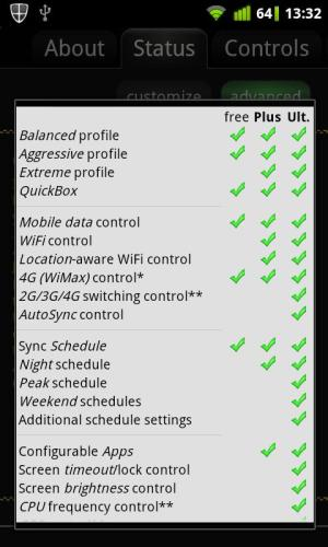 Android JuiceDefender Ultimate Screen 7