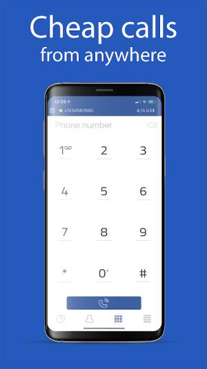 International Calls 12.2.9 Screen 2