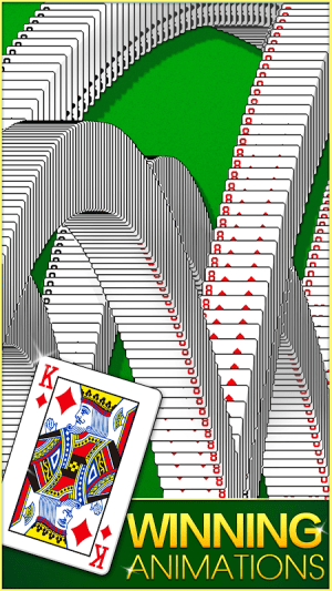 Android Solitaire! Screen 8