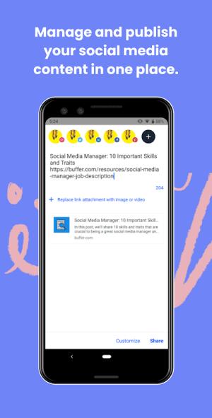 Buffer: Social Media Manager 7.8.7 Screen 3