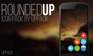 Android Rounded UP - icon pack Screen 2