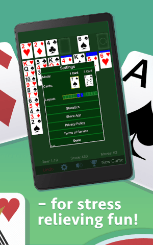 Solitaire 3.6.0.3 Screen 8