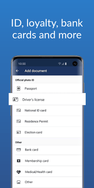 Folio: Mobile Wallet, Digital Card & ID Scanner 1.6.4 Screen 1