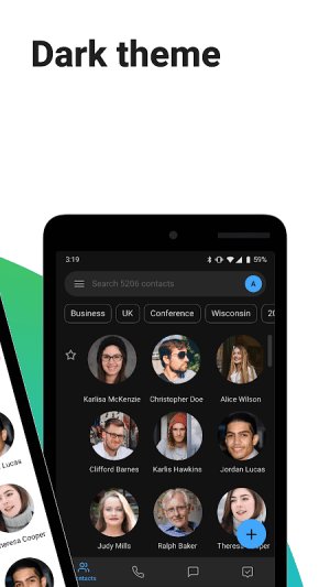 Android Contacts+ Screen 5