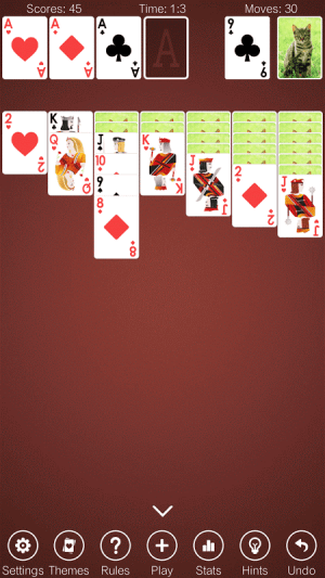Solitaire 2.8 Screen 3