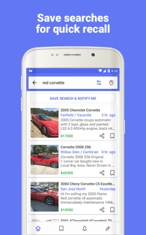 Android Daily for Craigslist App Screen 1