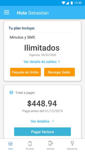 Mi Telcel 9.4.1 Screen 6