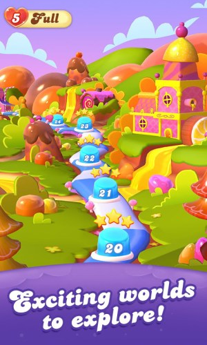 Candy Crush Friends Saga 1.36.5 Screen 1