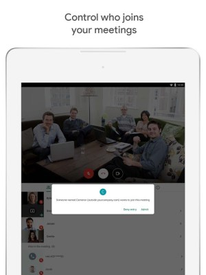 Google Meet – Secure video meetings 2021.04.18.369492438.Release Screen 5