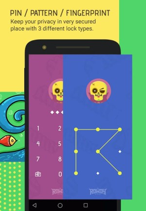 Android Skullock Photo vault: Lock private photos & videos Screen 15